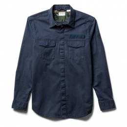 LS Smith River Military Inspired Stretch Twill Overshirt Timberland