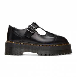 Dr. Martens Black Leather Pulley Mary-Janes R15727001