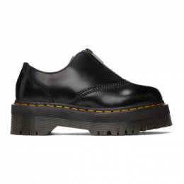 Dr. Martens Black 1461 Quad Zip Derbys R25451001