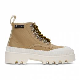 Proenza Schouler Beige Hiking Boots PS32051A 11135