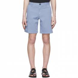 PS by Paul Smith Blue Cargo Shorts M2R-858T-A20755