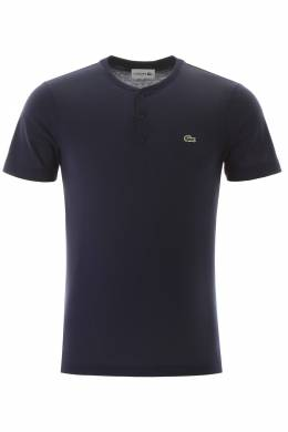 HENLEY T-SHIRT WITH LOGO PATCH Lacoste 201697UTS000001-166M