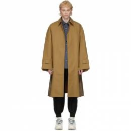 Tan Hobo Trench Coat A. A. Spectrum 81203302