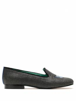 Blue Bird Shoes LOAFER BUTTERFLY PALHA PRETO S2001710