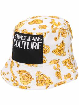 Versace Jeans Couture панама с нашивкой-логотипом E8HVBK09S0686