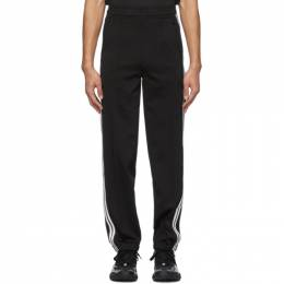 Neil Barrett Black and Off-White Suiting Lounge Pants BJP201A N535P