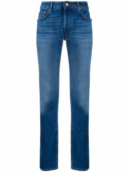mid-rise straight leg jeans Hand Picked RAVELLO01974W15341