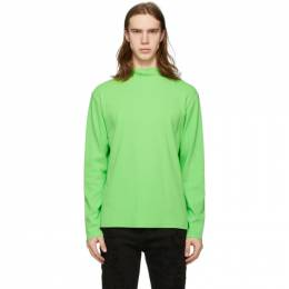 Green Sci Fi Skivvy Long Sleeve T-Shirt Stolen Girlfriends Club C1-20365S