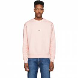 MSGM Pink Fleece Logo Sweatshirt 2840MM89 207089