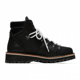 PS by Paul Smith Black Ash Hiking Boots M2S-ASH01-ATEX
