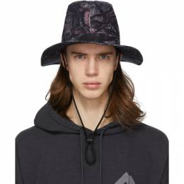 Grey Camo Crusher Hat South2 West8 GL758