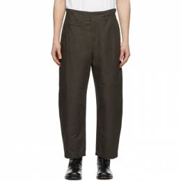 Lemaire Black Military Trousers M 201 PA147 LF439