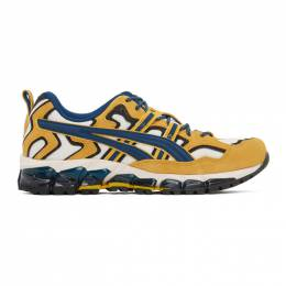 Asics Yellow and White GEL-NANDI 360 Sneakers 1021A284