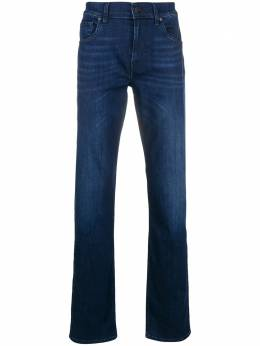 7 For All Mankind luxe performance straight leg jeans JSMSR750PC