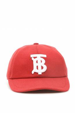 JERSEY BASEBALL CAP WITH MONOGRAM Burberry 201481FPP000004-A8154