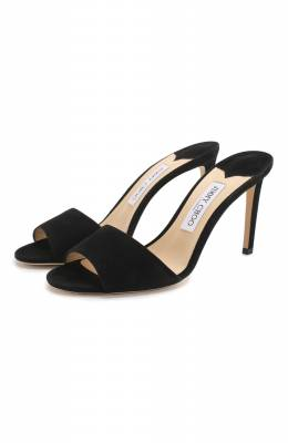 Замшевые мюли Stacey 85 Jimmy Choo STACEY 85/SUE