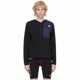 Black Rocco Insulation Mid-Layer Sweatshirt District Vision DV0013