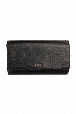 Кошелек Dkny R8353622 BLK/GOLD BRYANT-WALLET ON A S