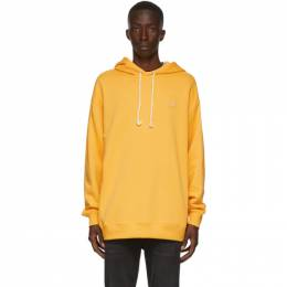 Acne Studios Yellow Oversized Patch Hoodie CI0009-