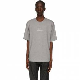 Acne Studios Grey Reflective Patch Motif T-Shirt CL0073-
