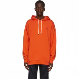 Acne Studios Orange Oversized Patch Hoodie CI0009-