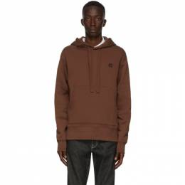 Acne Studios Brown Ferris Patch Hoodie 2HK173-