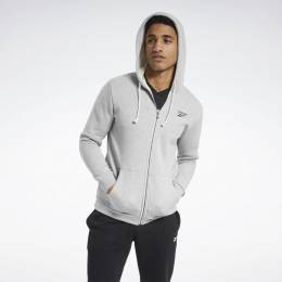 Худи Training Essentials Fleece Zip Up Reebok FU3242-0001
