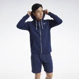 Худи Training Essentials Fleece Zip Up Reebok FU3230-0001