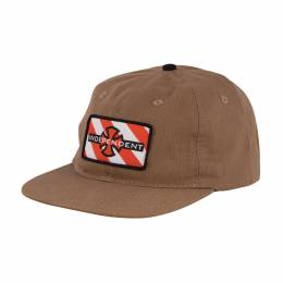 Бейсболка Independent Hazard Adjustable Snapback Hat Brown Brown 2020 0659641885271