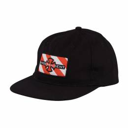 Бейсболка Independent Hazard Adjustable Snapback Hat Black 2020 0659641885264