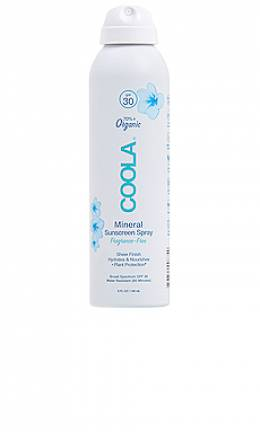 Fragrance free mineral body sunscreen spray spf 30 -  COOLA CL10293