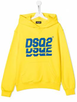 Dsquared2 Kids худи с логотипом DSQ2 DQ0476D002G