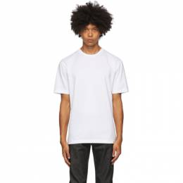 Acne Studios White Slim Fit T-Shirt BL0230