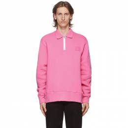 Acne Studios Pink Point Collar Oversized Sweatshirt CI0041-