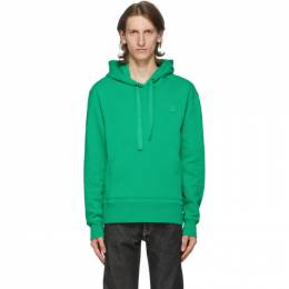 Acne Studios Green Patch Hoodie 2HK173