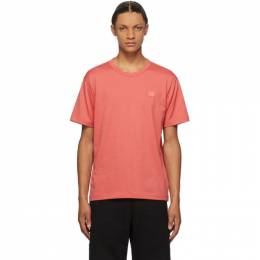 Acne Studios Red Nash Patch T-Shirt 25E173