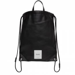 Maison Margiela Black Zero Impact Drawstring Backpack S55WA0120 P3532