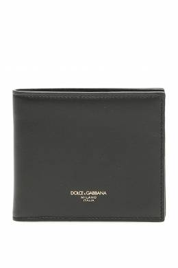 LEATHER BIFOLD WALLET Dolce and Gabbana 202450FPG000003-80999