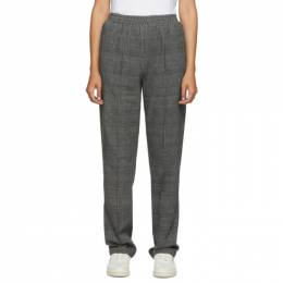 Rag & Bone Grey Plaid Rylie Pant WAW20P70442U44-GREYPL