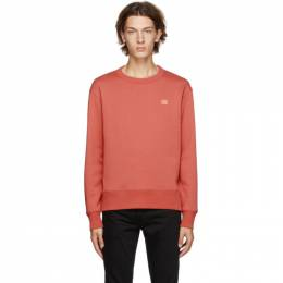 Acne Studios Red Fairview Patch Sweatshirt 2HL173