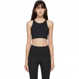 Black Topanga Tank Sports Bra 1001-JB-CORE Girlfriend Collective