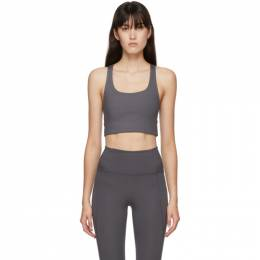Grey Paloma Sports Bra 1002-GP Girlfriend Collective