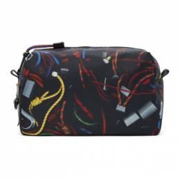 PS by Paul Smith Black Rope Wash Bag M2A-6308-EROPEP