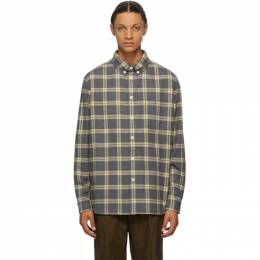 Nanushka Grey Flannel Dome Shirt NM20PFSH01995