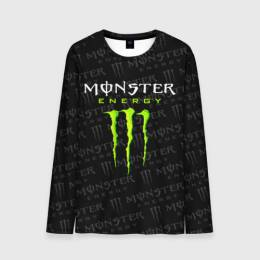 Мужской лонгслив 3D MONSTER ENERGY