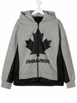 Dsquared2 Kids худи с логотипом Maple DQ049ED00J8