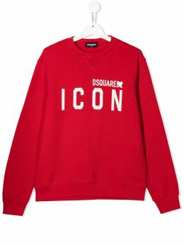 Dsquared2 Kids толстовка Icon с логотипом DQ049UD002Y