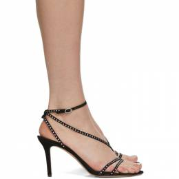 Isabel Marant Black Axee Heeled Sandals 20ASD0508-20A002S
