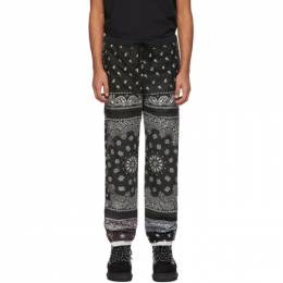Black and Brown Patchwork Bandana Pants COTDPT-332 Children of the Discordance