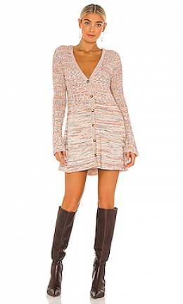 Вязаное платье rachel cardigan - Free People OB1203668